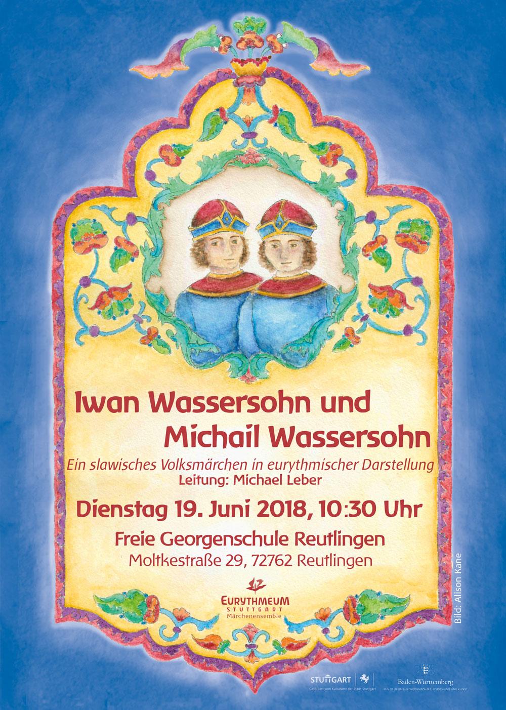 Iwan Wassersohn und Michail Wassersohn von Märchen-Ensemble ...